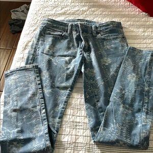 Ralph Lauren skinny jeans size 28w-32l